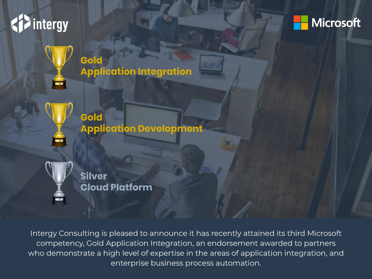 Microsoft Gold application integration Competency